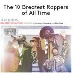 Billboard lança lista dos '10 melhores rappers de todos os tempos'