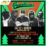 24/12: Groovelicious Especial Natal em São Paulo
