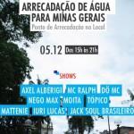 05/12: Arrecadação de Água para MG em Jacareí