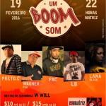 19/02: Festa Um Boom Som em Belo Horizonte