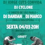 04/03: StereoMono com DJs Marco, Dan Dan e Jorge Cuts em POA