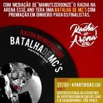 27/03: Racha na Arena – Break e MCs, em SP