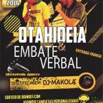 24/09: Reduto do Rap com Otahideia e Embate Verbal em SP