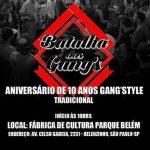 16/10: 10 anos da crew Gang'Style em São Paulo