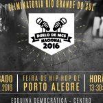 12/11: Duelo de MCs Eliminatória RS em Porto Alegre