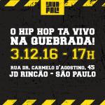 03/12: Festival de hip hop A Rua Fala em SP