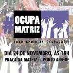 24/11: Rap no #OcupaMatriz em Porto Alegre